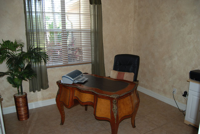 Vacation rental Tarpon view office